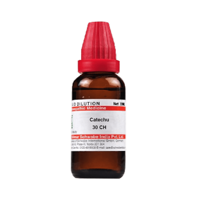 Dr Willmar Schwabe India Catechu Dilution 30 CH