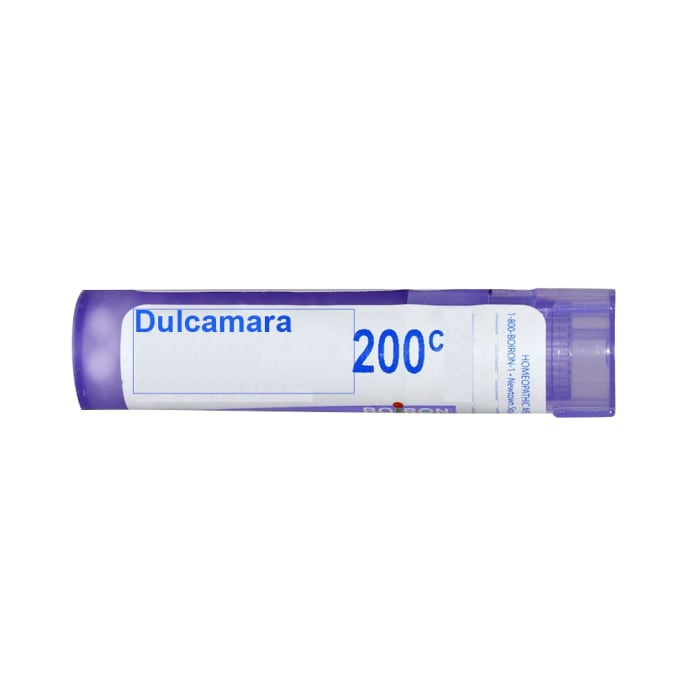 Boiron Dulcamara Single Dose Approx 200 Microgranules 200 CH