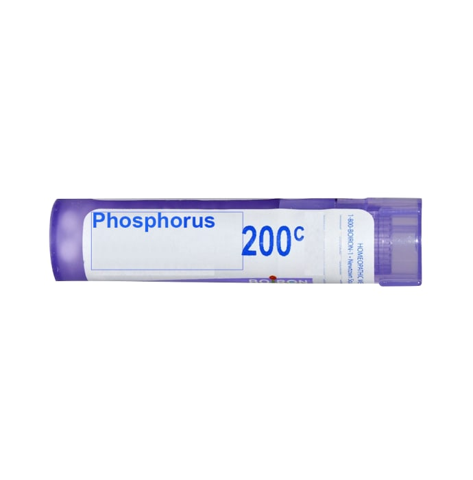 Boiron Phosphorus Multi Dose Approx 80 Pellets 200 CH
