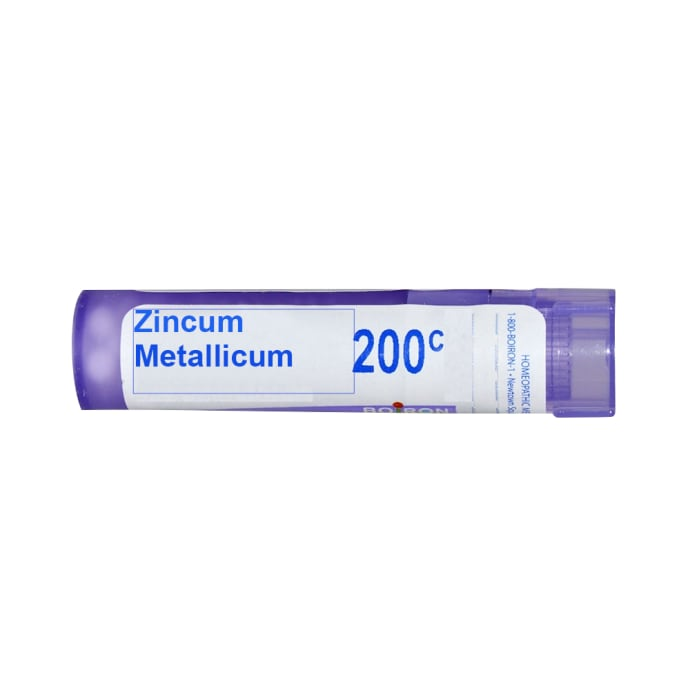 Boiron Zincum Metallicum Single Dose Approx 200 Microgranules 200 CH