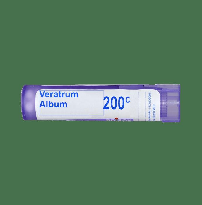 Boiron Veratrum Album Single Dose Approx 200 Microgranules 200 CH