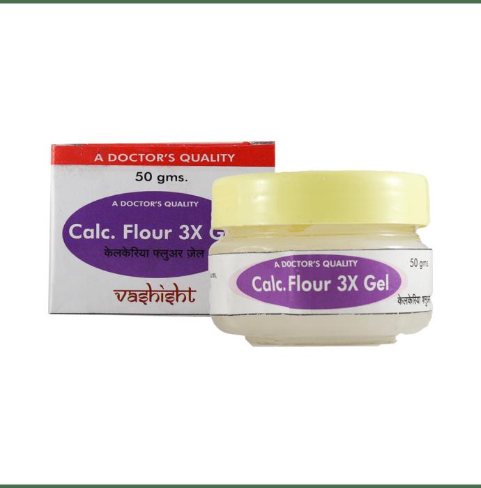 Vashisht Calc Flour 3X Gel