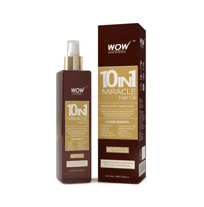 WOW Skin Science 10-in-1 Active Miracle Hair Oil