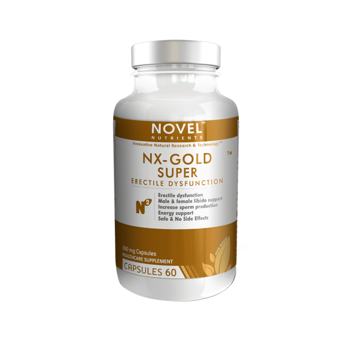Novel Nutrients NX-Gold Super Capsule