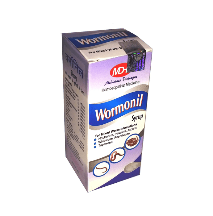 MD Homoeo Wormonil Syrup Pack of 2