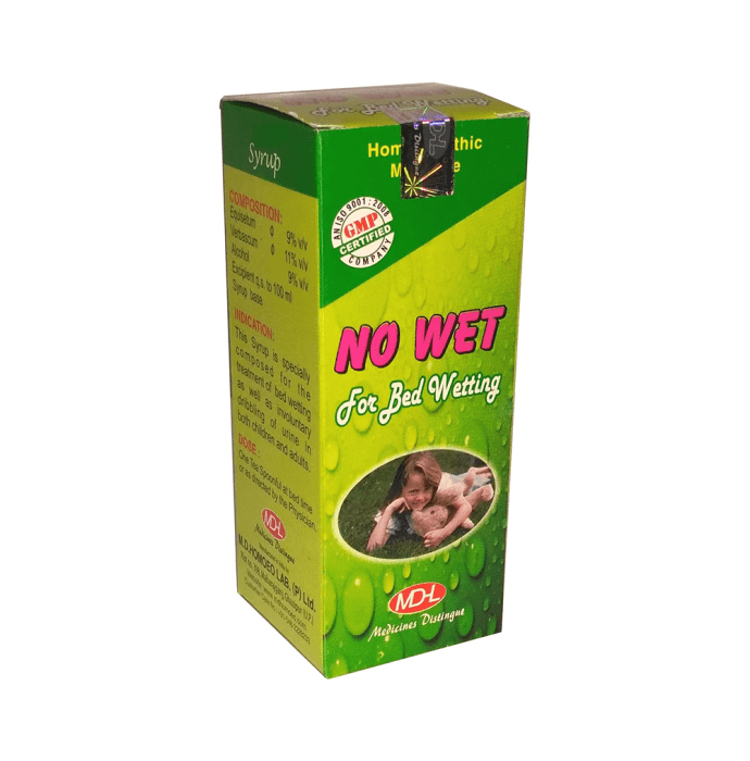 MD Homoeo No Wet Syrup Pack of 2