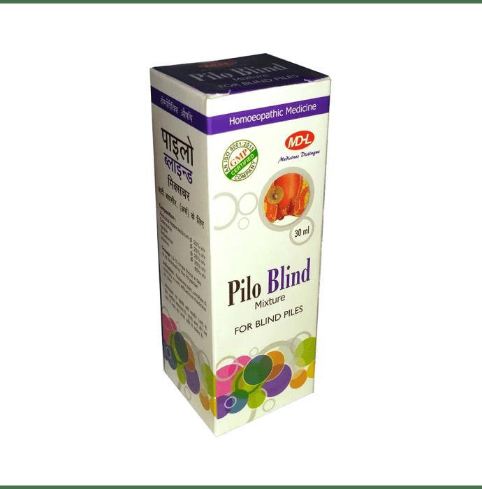 MD Homoeo Pilo Blind Mixture Liquid