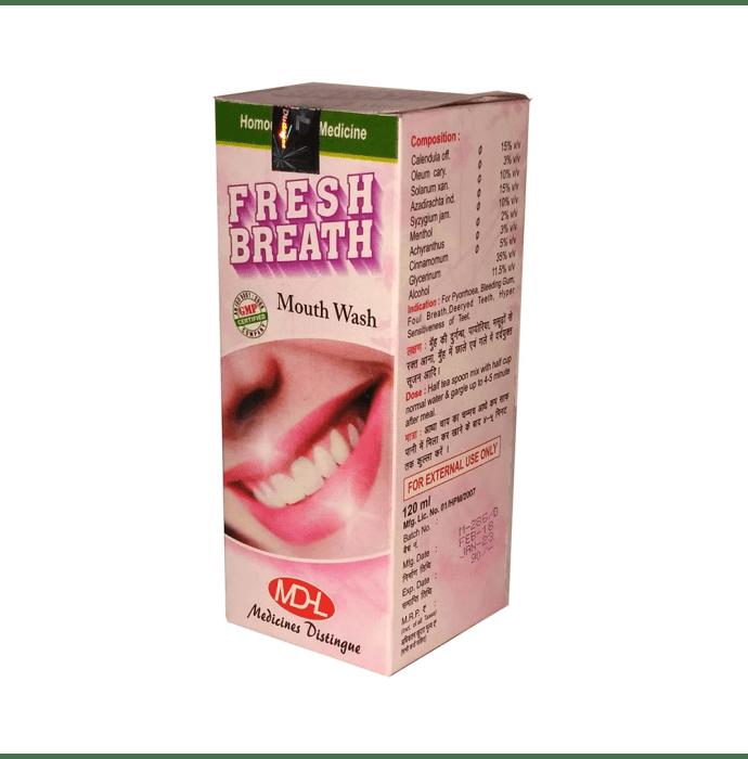 MD Homoeo Fresh Breath Mouth Wash