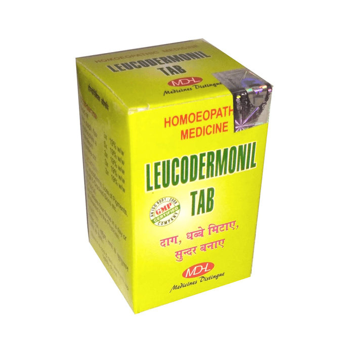 MD Homoeo Leucodermonil Tablet