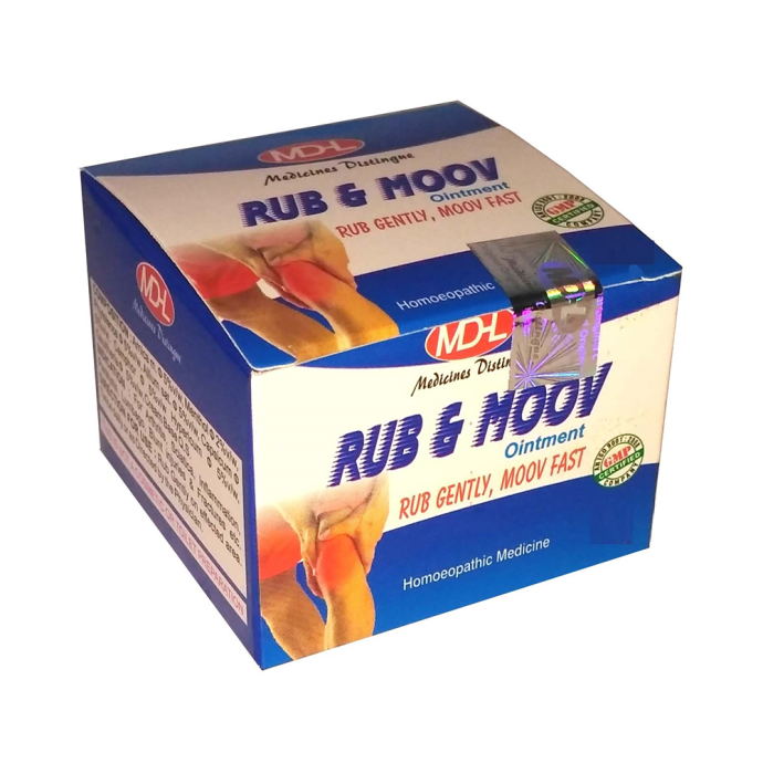 MD Homoeo Rub & Moov Ointment Pack of 2
