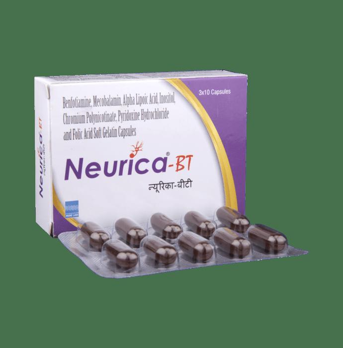 Neurica -BT Soft Gelatin Capsule
