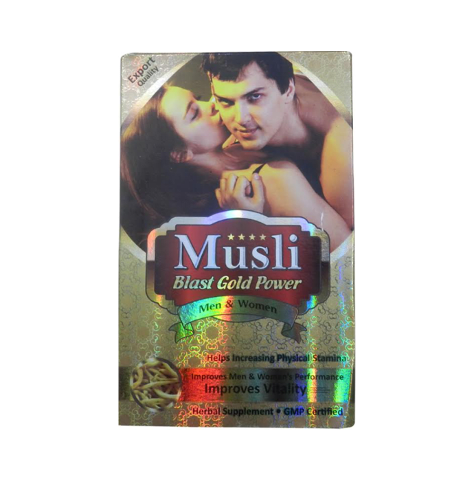 Musli Blast Gold Power Capsule