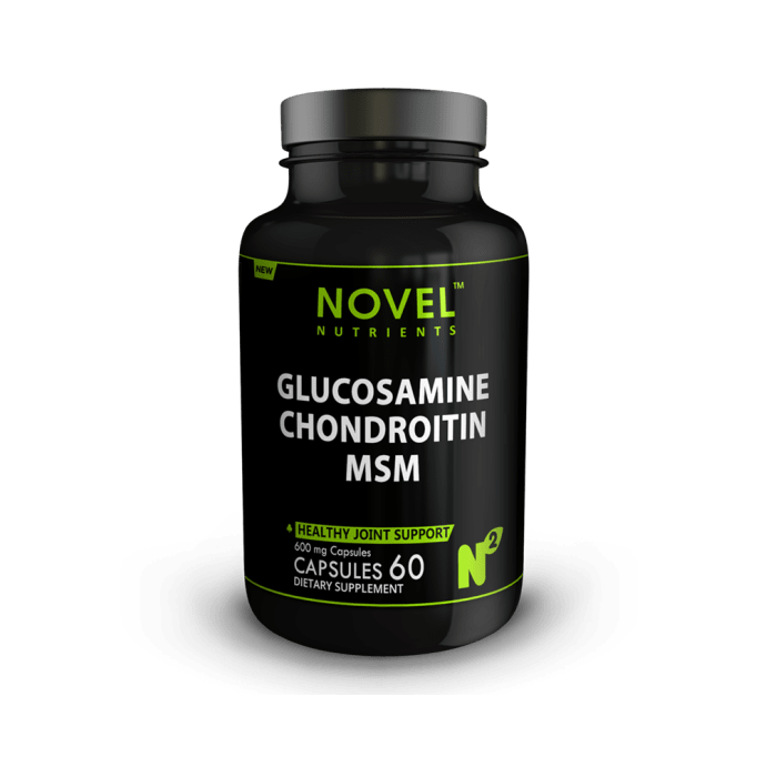 Novel Nutrients Glucosamine Chondroitin MSM 600mg Capsule