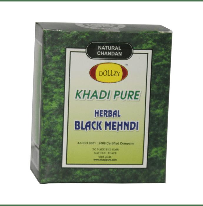 Khadi Pure Herbal Mehndi Black Pack of 2