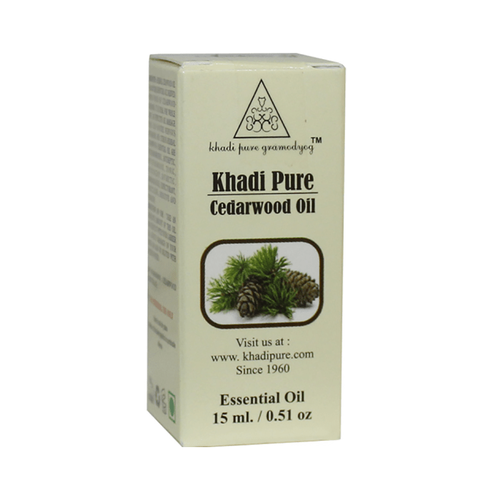 Khadi Pure Herbal Cedarwood Essential Oil
