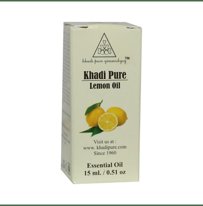 Khadi Pure Herbal Lemon Essential Oil