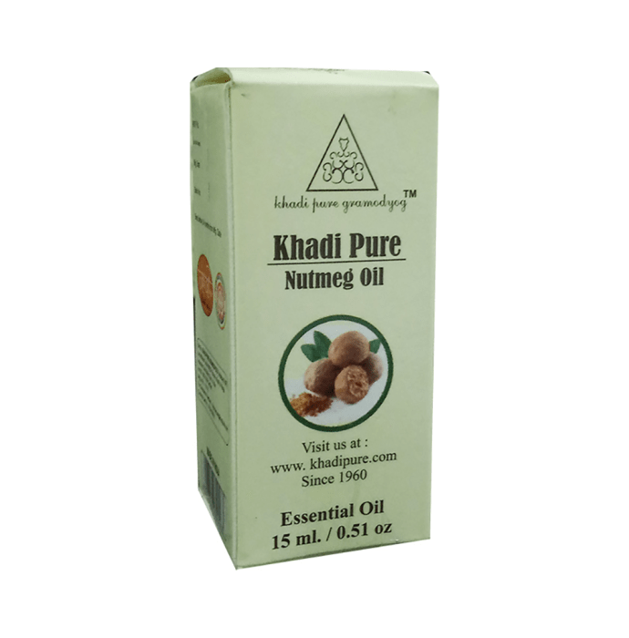 Khadi Pure Herbal Nutmeg Essential Oil