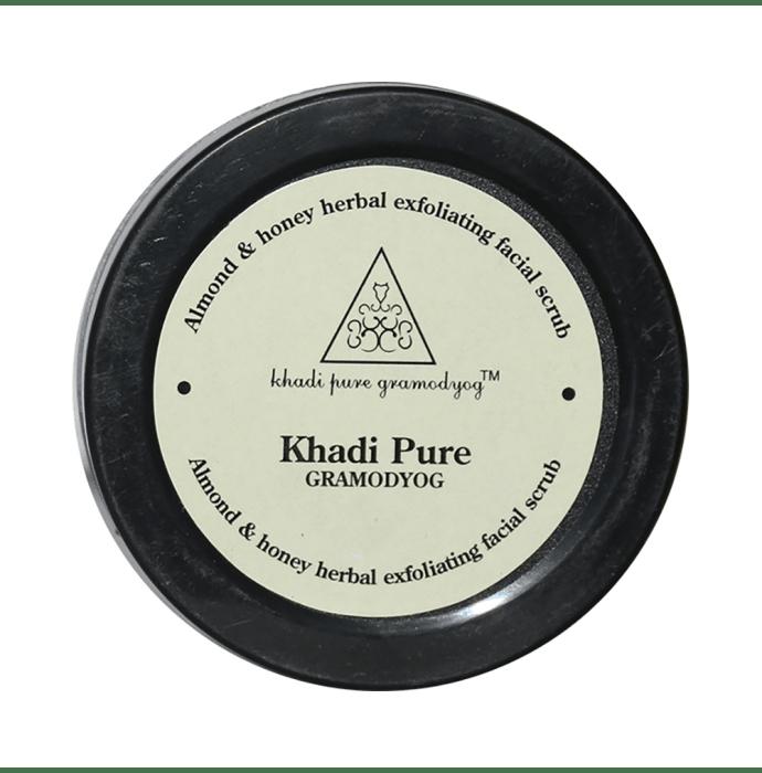 Khadi Pure Herbal Almond & Honey Exfoliating Facial Scrub