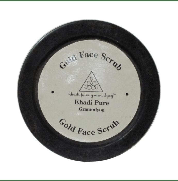 Khadi Pure Herbal Gold Face Scrub