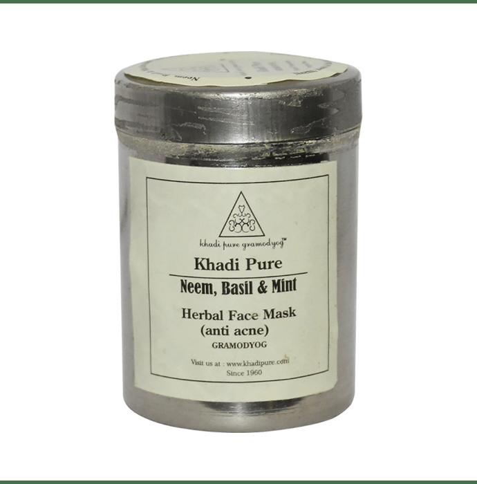 Khadi Pure Herbal Neem, Basil & Mint Face Mask