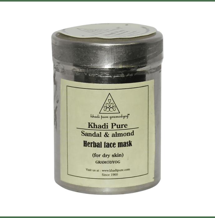 Khadi Pure Herbal Sandal & Almond Face Mask