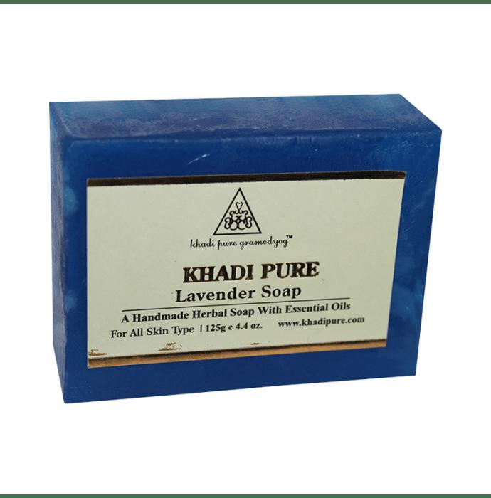 Khadi Pure Herbal Lavender Soap