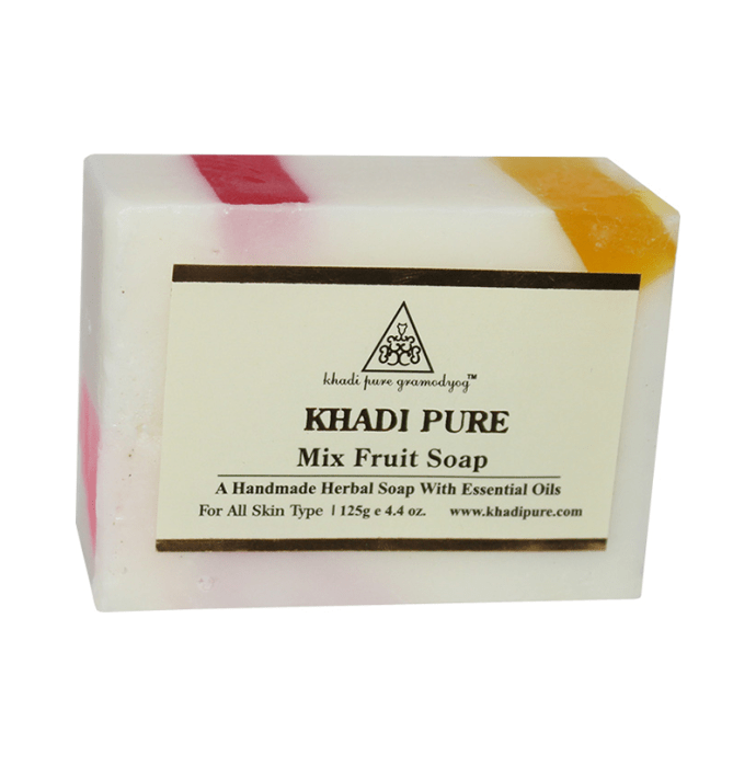 Khadi Pure Herbal Mix Fruit Soap Pack of 2