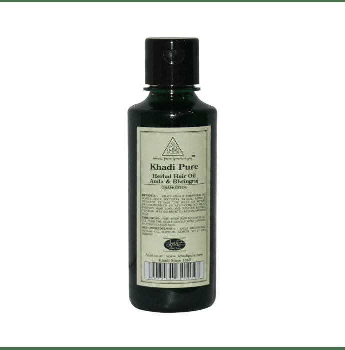 Khadi Pure Herbal Amla & Bhringraj Hair Oil