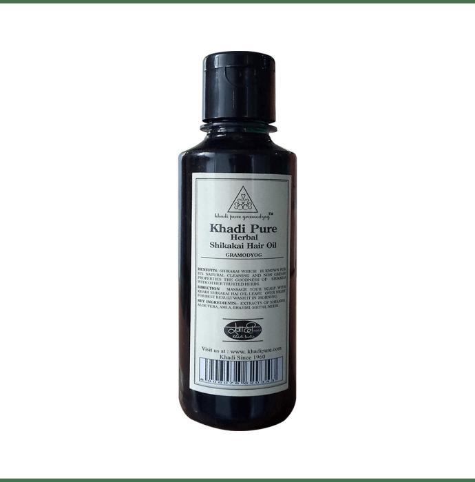 Khadi Pure Herbal Shikakai Hair Oil