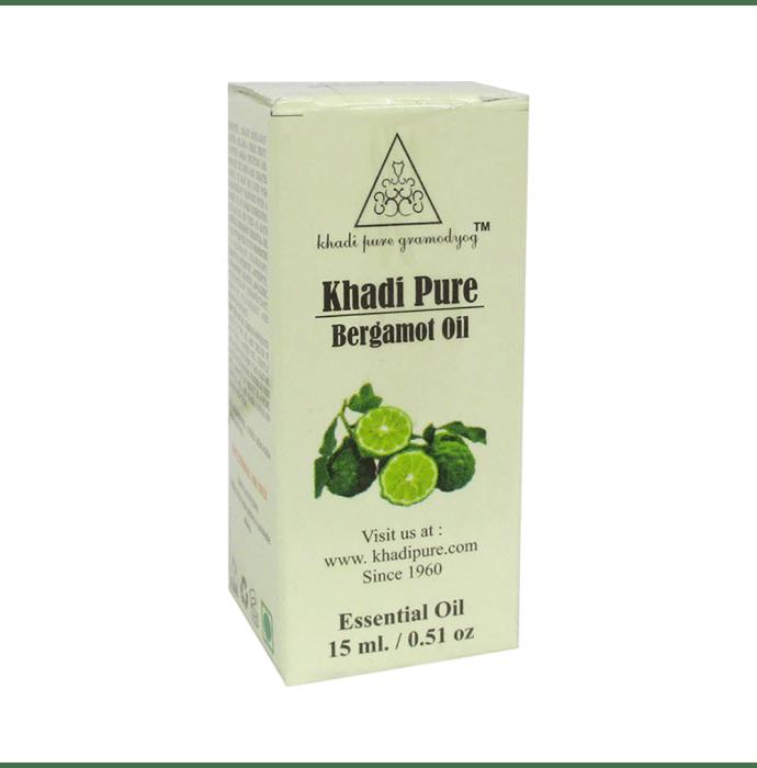 Khadi Pure Herbal Bergamot Essential Oil