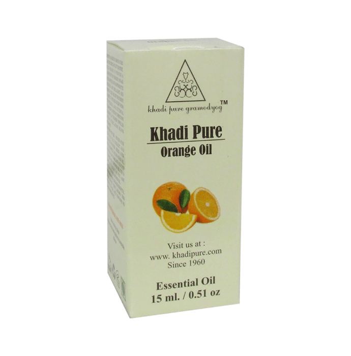 Khadi Pure Herbal Orange Essential Oil