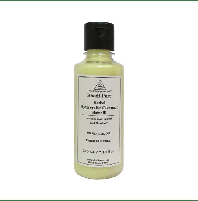 Khadi Pure Herbal Ayurvedic Coconut Hair Oil