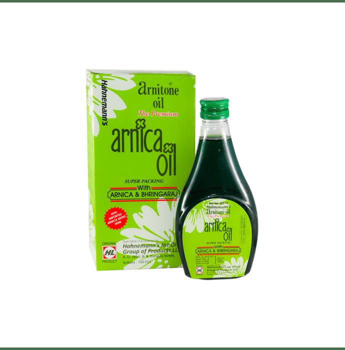 Hahnemann Labs Arnitone with Arnica And Bhringaraj Oil