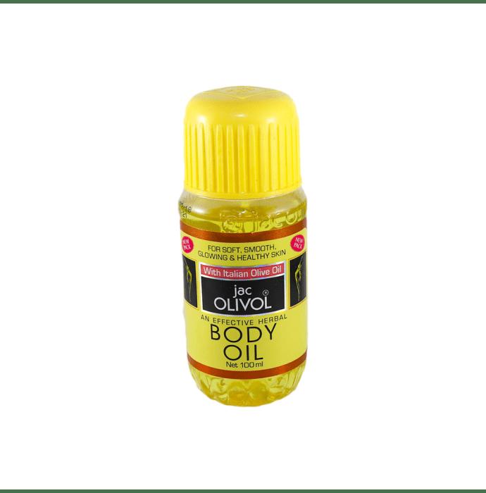 Hahnemann Labs Jac Olivol Body Oil Pack of 2