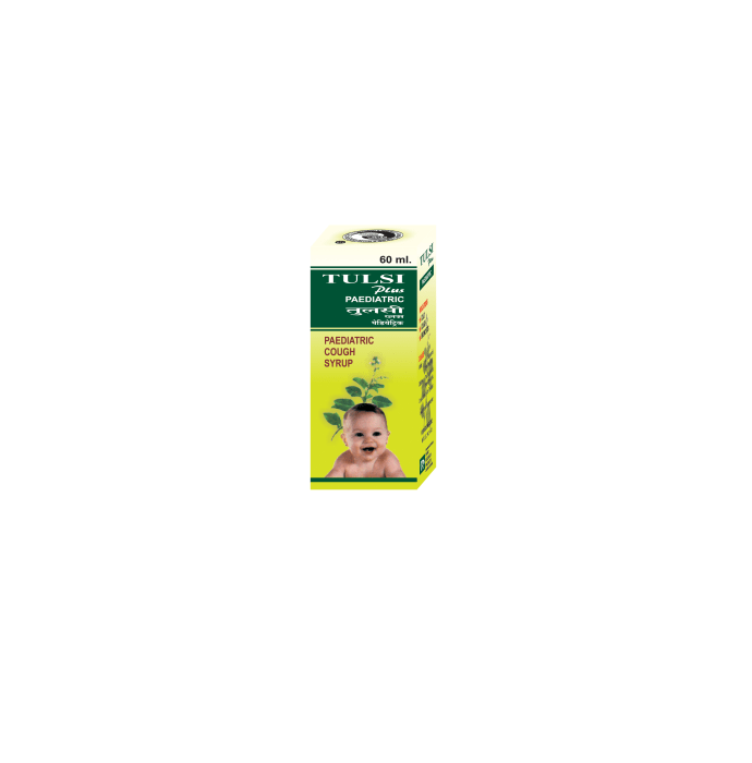 Rhino Tulsi Plus Pediatric Syrup Pack of 2