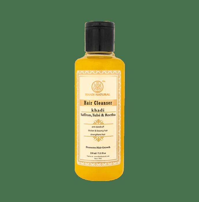 Khadi Naturals Ayurvedic Saffron, Tulsi & Reetha Hair Cleanser