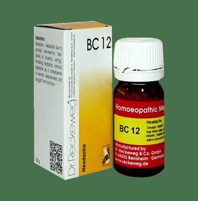 Dr. Reckeweg Bio-Combination 12 (BC 12) Tablet