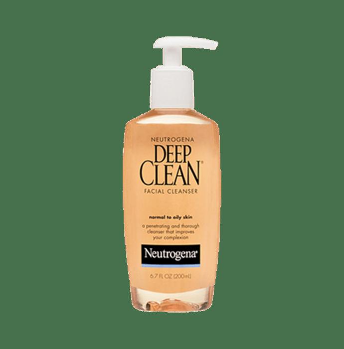 Neutrogena Facial Cleanser Deep Clean