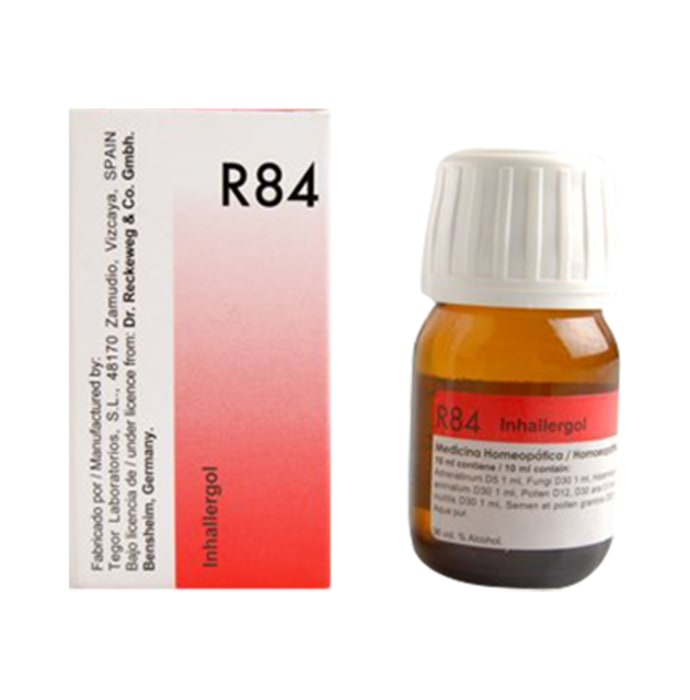 Dr. Reckeweg R84 Inhalent Allergy Drop