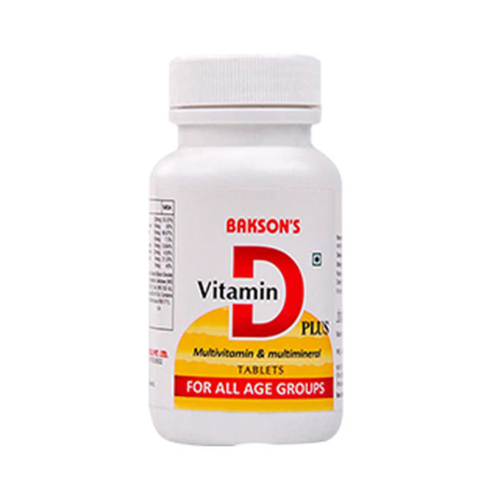 Bakson's Vitamin D Plus Tablet