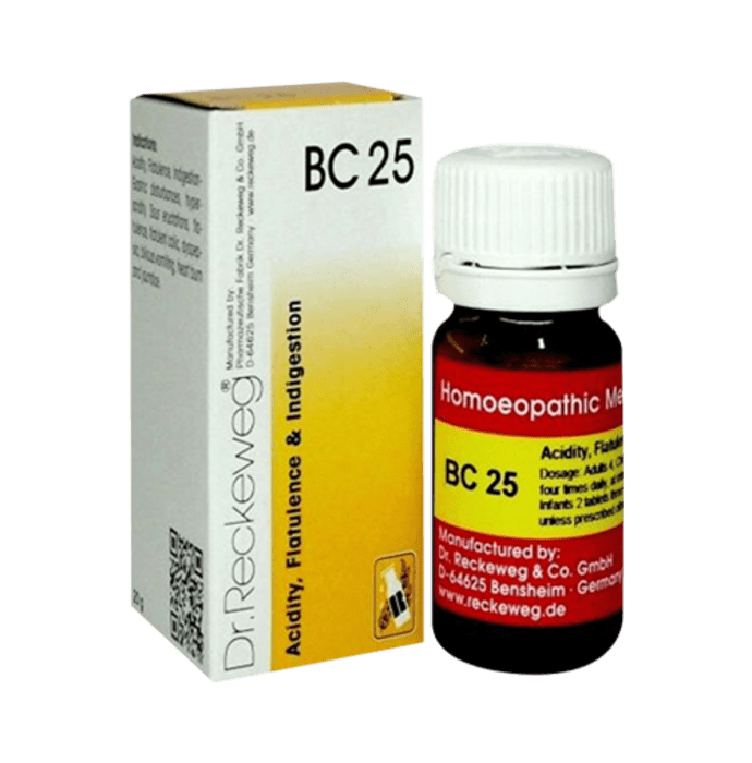 Dr. Reckeweg Bio-Combination 25 (BC 25) Tablet