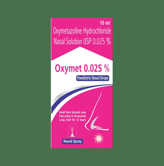 Oxymet Paediatric  Nasal Drops