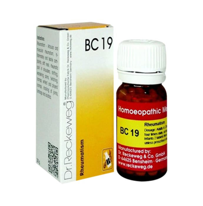 Dr. Reckeweg Bio-Combination 19 (BC 19) Tablet