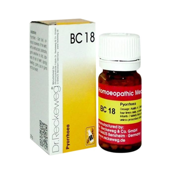 Dr. Reckeweg Bio-Combination 18 (BC 18) Tablet