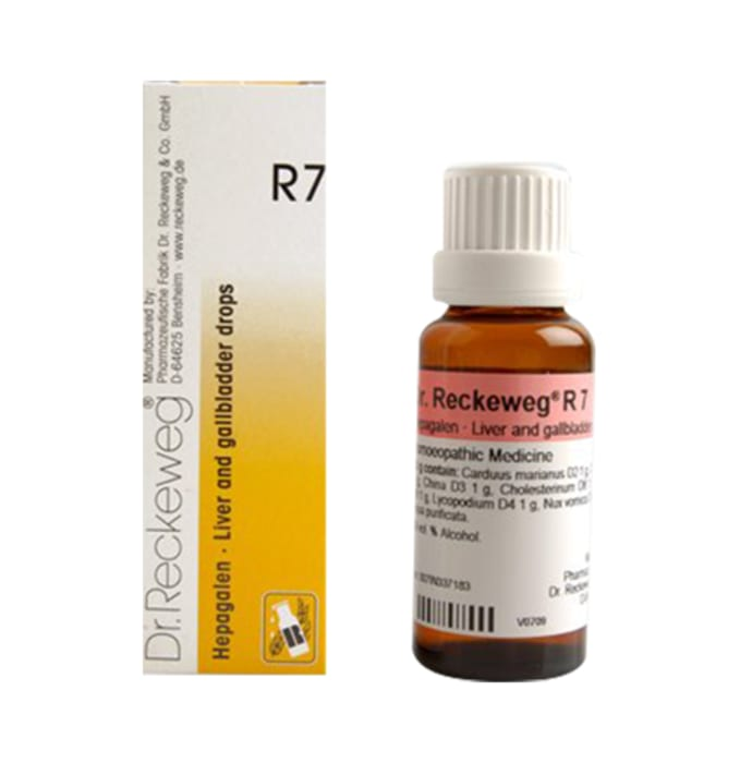 Dr. Reckeweg R7 Liver And Gall Bladder Drop