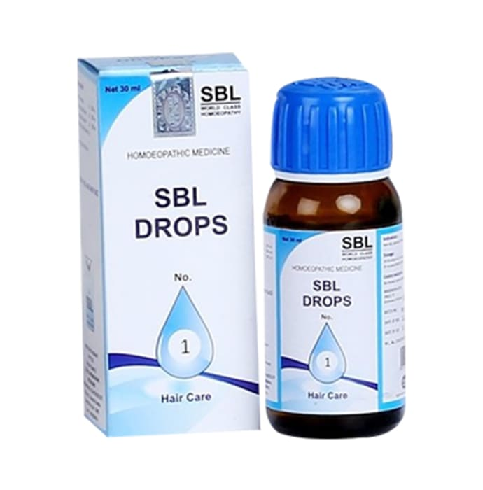 SBL Drops No. 1 (For Hair Care)