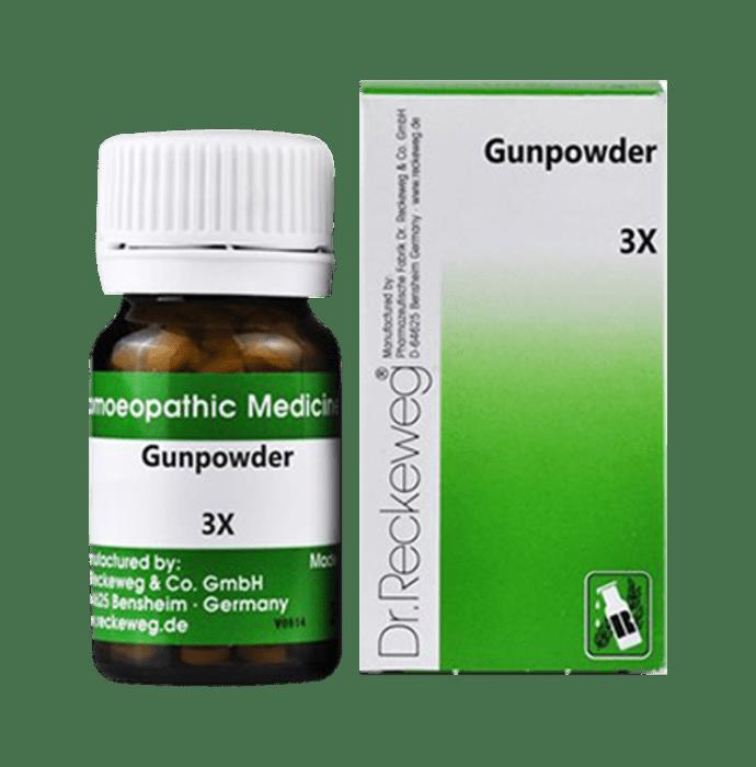 Dr. Reckeweg Gunpowder Trituration Tablet 3X