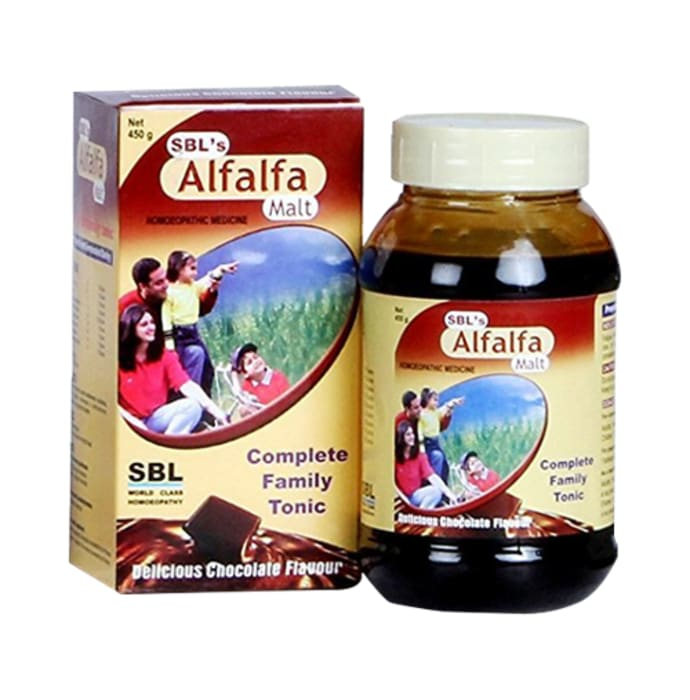 SBL Alfalfa Malt Energy Stimulant Delicious Chocolate