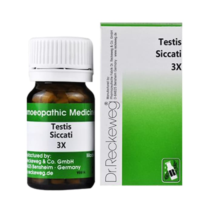 Dr. Reckeweg Testis Siccati Trituration Tablet 3X