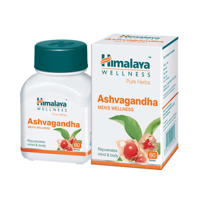 Himalaya Wellness Pure Herbs Ashvagandha General Wellness Tablet
